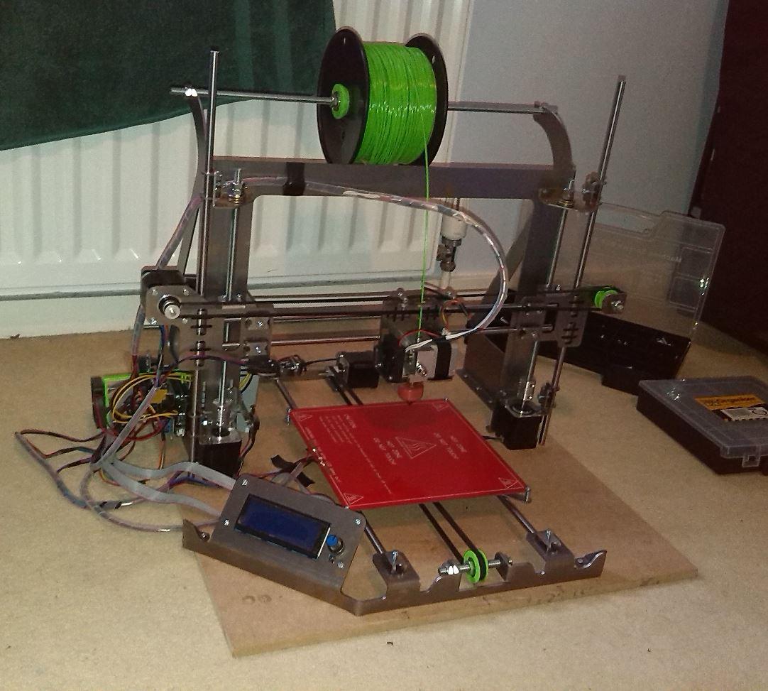 frax1 0 primera impresora 3d de fraxdesign